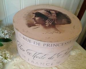 Hatbox Chic MOde de Paris